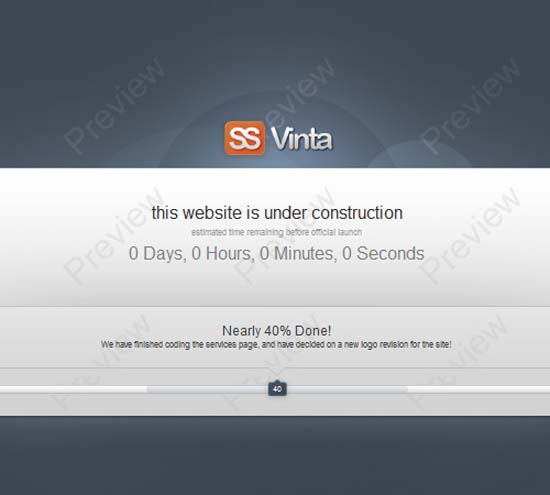 Vinta SS – Under Construction Page