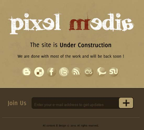 Pixel Media – Under Construction