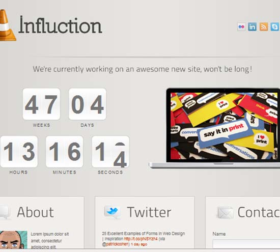 Influction – Under Constructionm