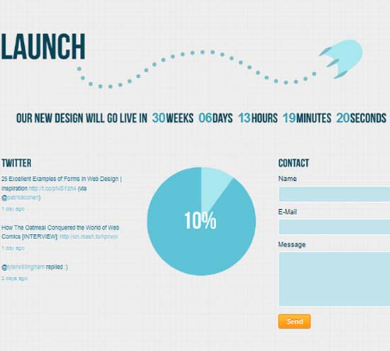 Launch – Coming Soon/Under Construction