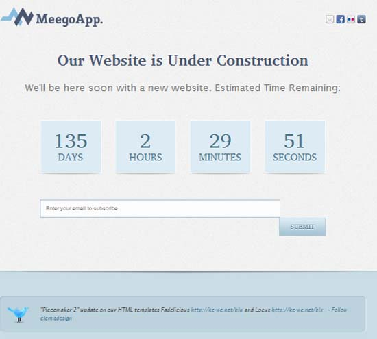 MeegoApp. – XHTML Under Construction with Bonus WP