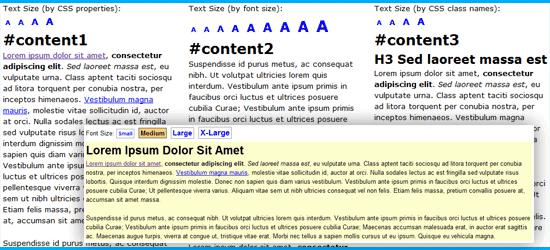 jQuery Text Resizer Plugin