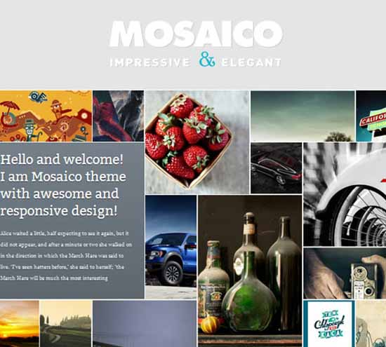 Mosaico – Unique Magazine Theme