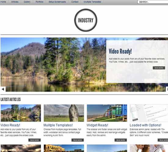 WP Industry – 8 in 1 Premium WordPress Theme