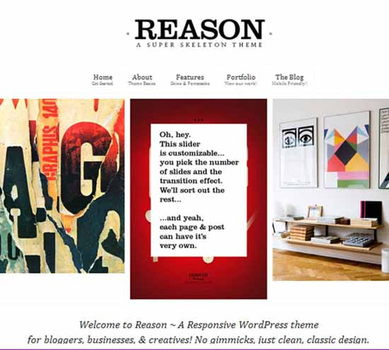 Reason WP: Smart, Responsive, Customizable