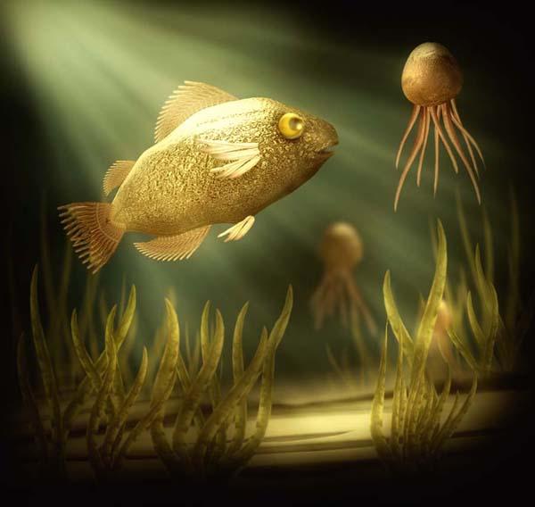Underwater Digital Paintings