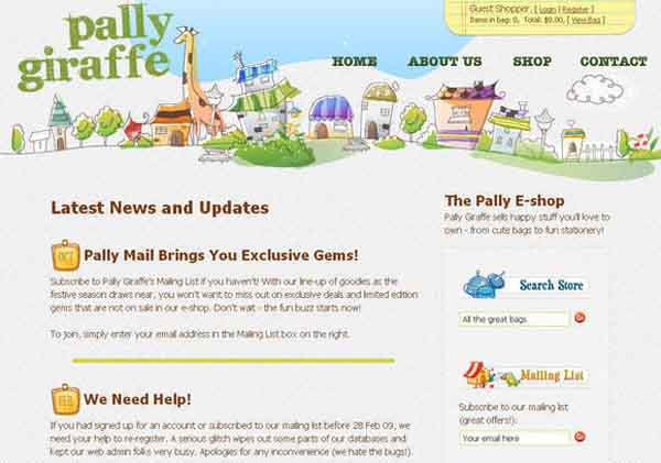 Pally Giraffe