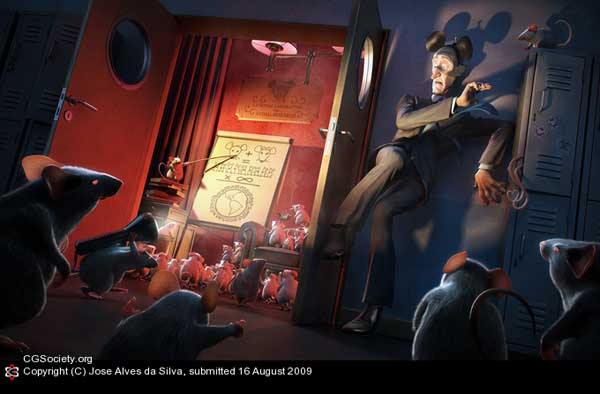 12-Mouse Love, Jose Alves da Silva (3D)