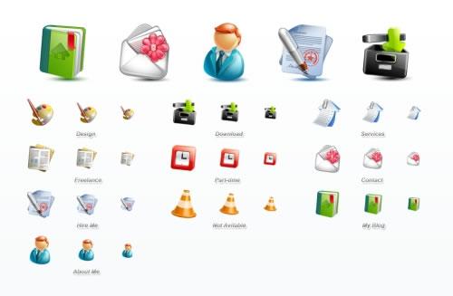 15-blogging-icons
