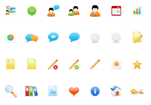28-on-stage-free-vector-psd-icon-set