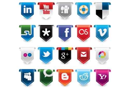33-New Social Media Icon Set