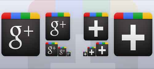 37-Google Plus Icon Vector