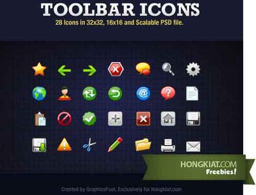 50-Toolbar Icons
