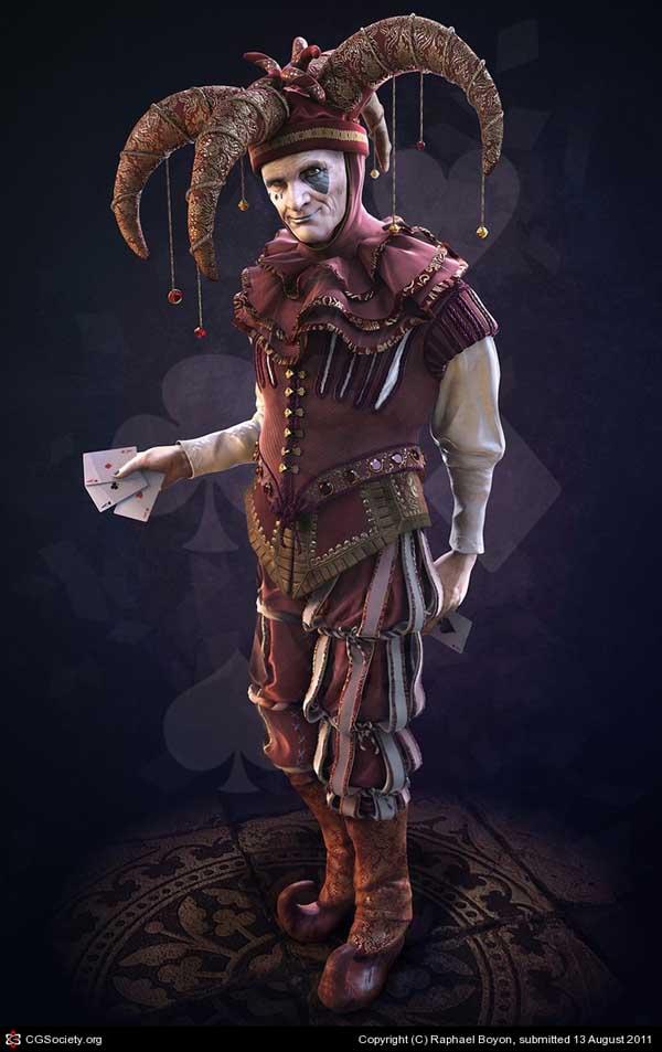 6-Jester, Raphael Boyon (3D)