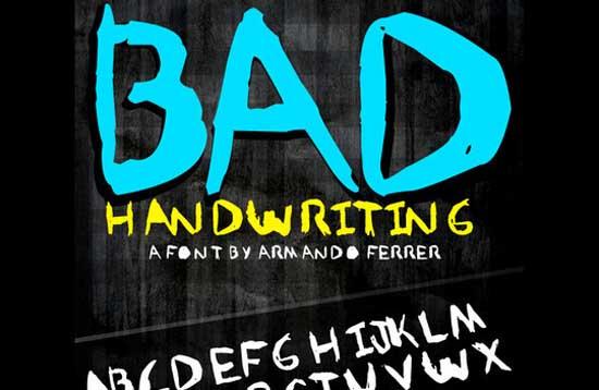 Armando Ferrer Bad Handwriting