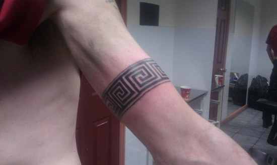 Simple Armband Tattoo