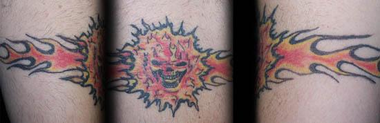 Skull Armband Tattoo