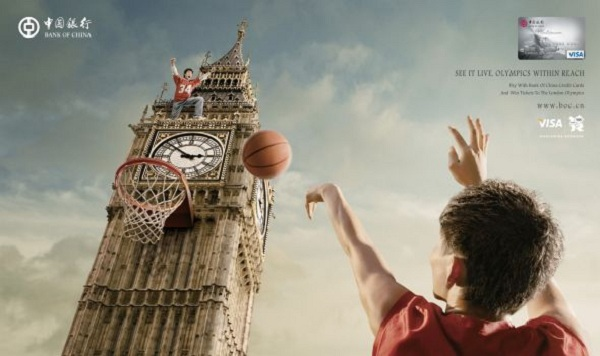 Bank of China 2012 London Olympics Campaign, Big Ben
