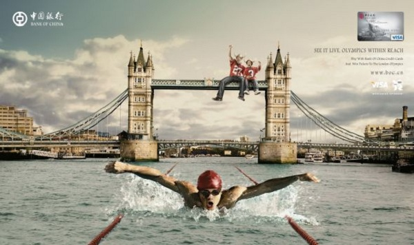 Bank of China 2012 London Olympics Campaign, London Tower Bridg