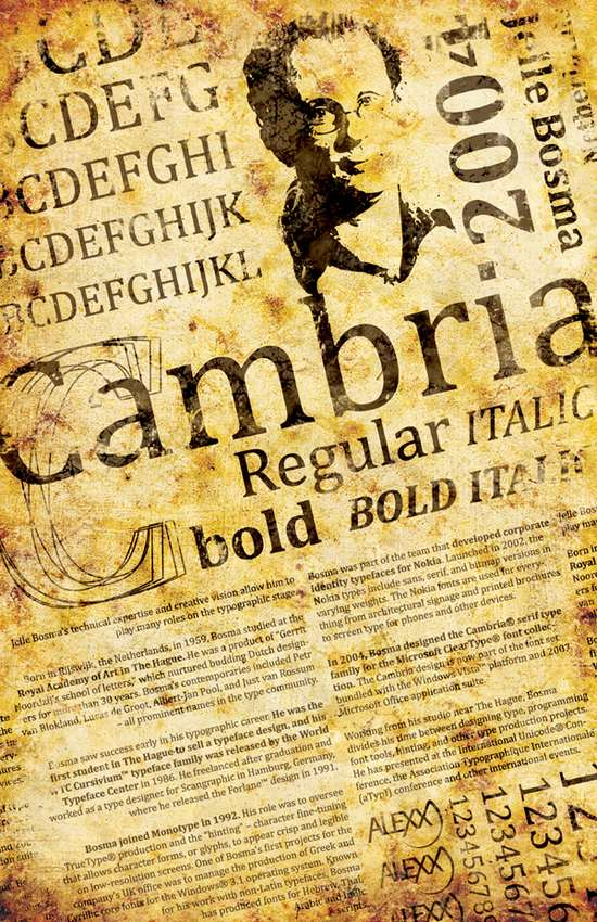 Cambria-Typeface-Poster1