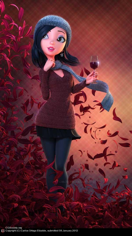 Cheers!, Carlos Ortega Elizalde (3D)