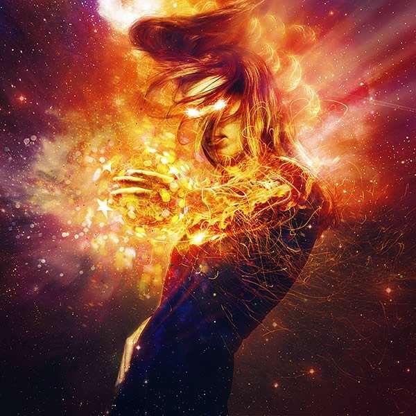 Create Cosmic Lighting Effects Using Photoshop CS6