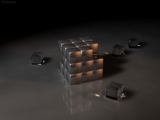 Cube Digital artwork