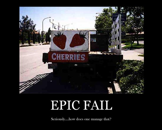 Epic fail Wallpaper