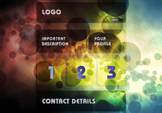 Web templateEpic Wallpaper