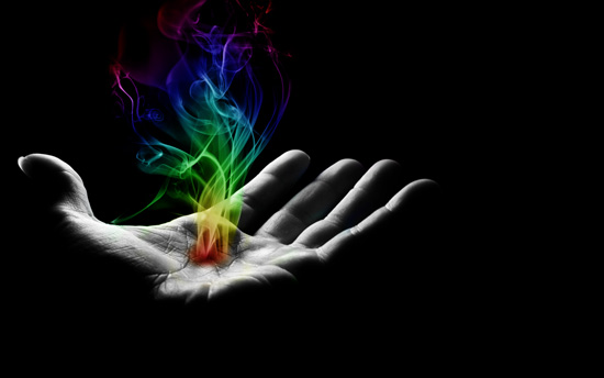 Hand reflectionEpic Wallpaper