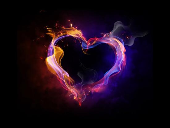 Fire heartEpic Wallpaper
