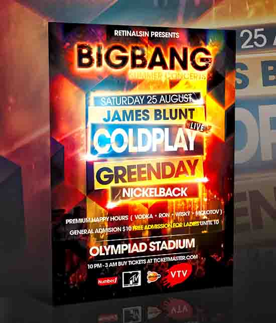 Big bang Flyer Design