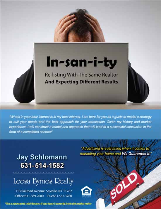 Insanity Flyer Design