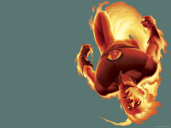 Flame On Human Torch