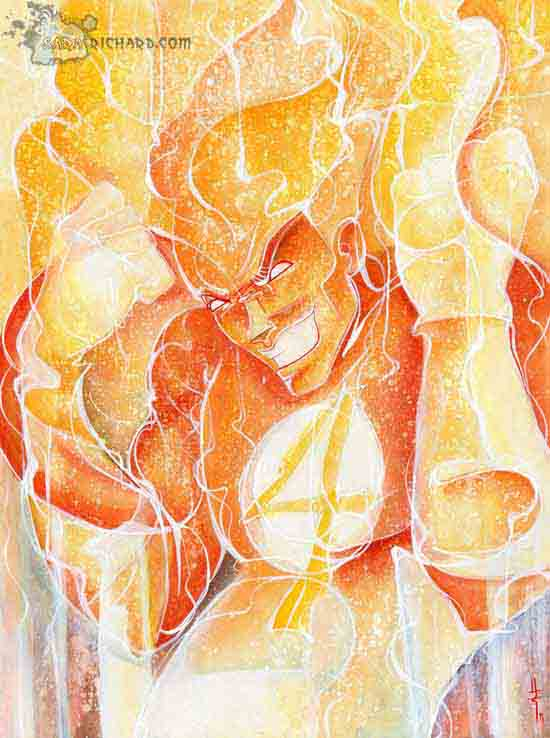 FantasticHuman Torch