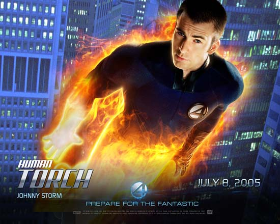 Johnny Storm Human Torch