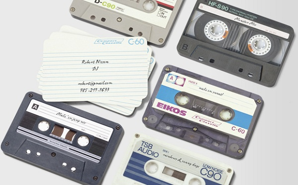 I made You a Mix Tape Business Card