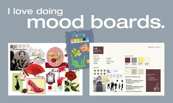 Reasons for using Mood Boarding