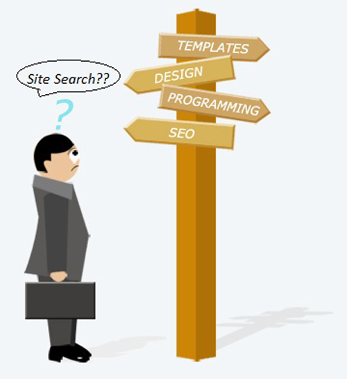 Site Search feature is a MUST