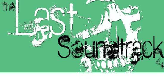 The Last Soundtrack font