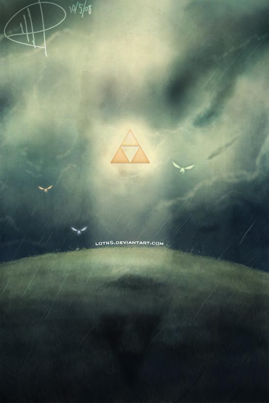 Epic Tri-force Wallpaper