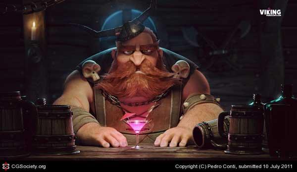 Viking, Pedro Conti (3D)