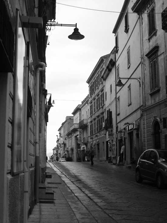 Street view Black and white photography