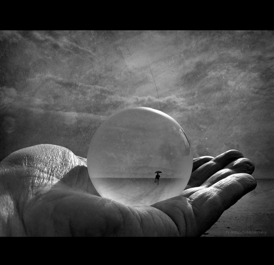 Globe Black and white photography