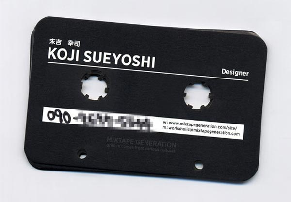 Cassette as Business Card