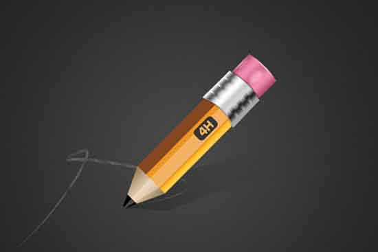 Learn How To Create A Stubby Pencil In Photoshop