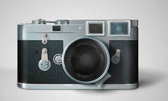How to Draw a Leica Camera in Photoshop