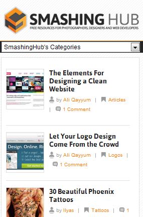 Smashinghub.com iphone4 view