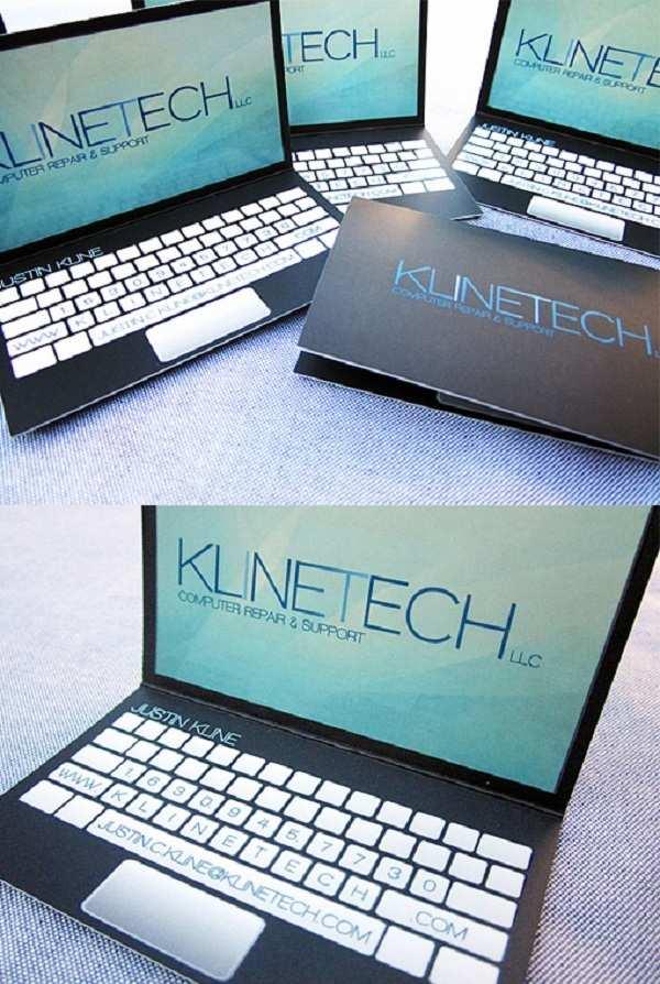 Laptop Business Card 2