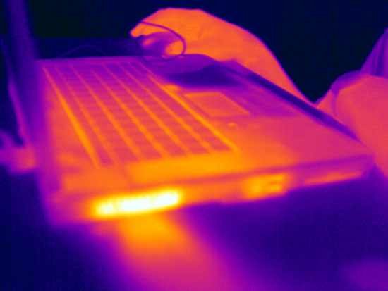 Laptop Thermal Imaging